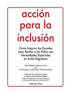Accion para la inclusion - book cover