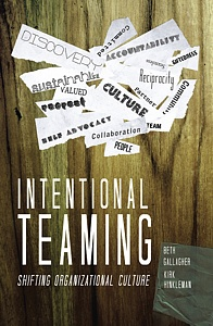 Intentional Teaming- book cover