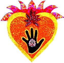 Heart/hand image