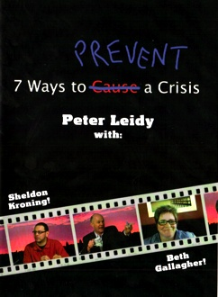 7 Ways to Prevent a Crisis - DVD - cover image