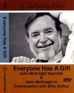 Everyone has a Gift - McKnight dvd cover