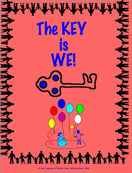 The Key is We - graphic image