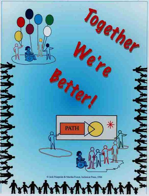 Together We're Better - graphic image