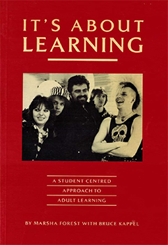 It's About Learning.book cover
