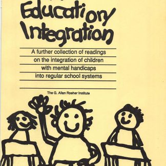 More Education-Integration.Marsha Forest.1987.cover