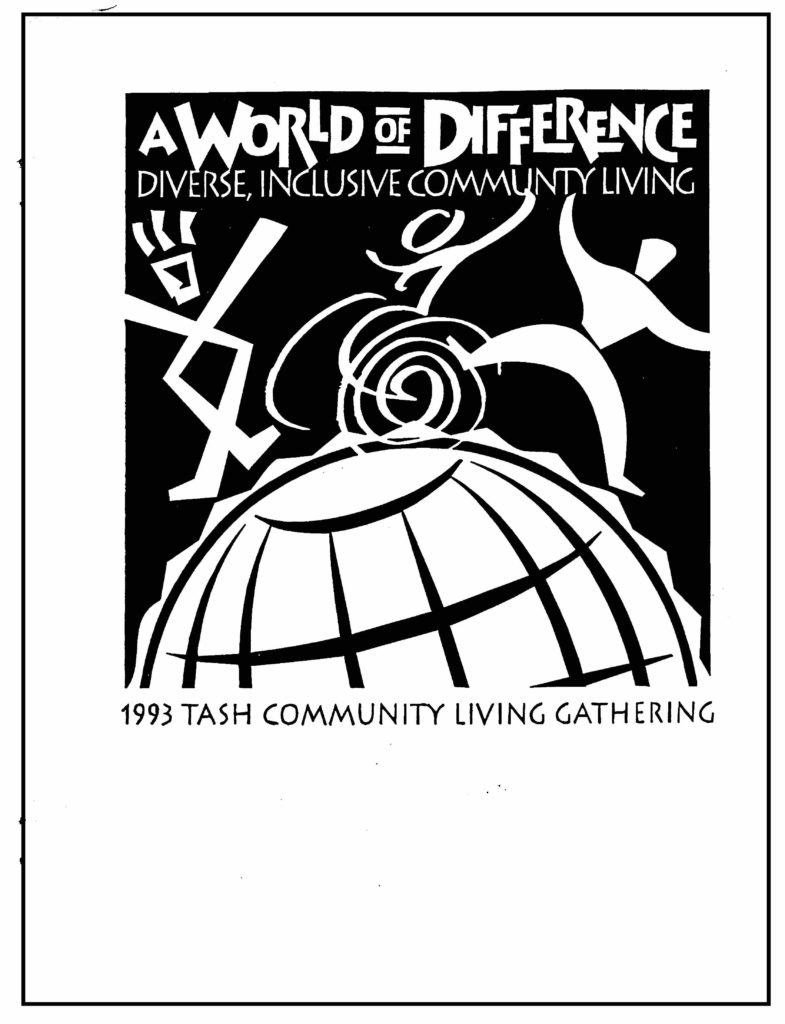 1993.Community Living Gathering.cover